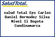 <i>salud Total Eps Carlos Daniel Bermudez Silva Nivel Ii Bogota Cundinamarca</i>