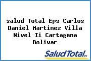 <i>salud Total Eps Carlos Daniel Martinez Villa Nivel Ii Cartagena Bolivar</i>
