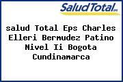 <i>salud Total Eps Charles Elleri Bermudez Patino Nivel Ii Bogota Cundinamarca</i>