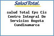 <i>salud Total Eps Cis Centro Integral De Servicios Bogota Cundinamarca</i>