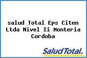 <i>salud Total Eps Citen Ltda Nivel Ii Monteria Cordoba</i>