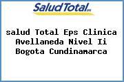 <i>salud Total Eps Clinica Avellaneda Nivel Ii Bogota Cundinamarca</i>