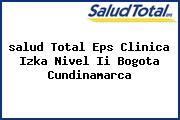 <i>salud Total Eps Clinica Izka Nivel Ii Bogota Cundinamarca</i>