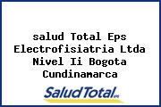 <i>salud Total Eps Electrofisiatria Ltda Nivel Ii Bogota Cundinamarca</i>