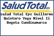 <i>salud Total Eps Guillermo Quintero Vega Nivel Ii Bogota Cundinamarca</i>