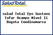 <i>salud Total Eps Gustavo Tafur Ocampo Nivel Ii Bogota Cundinamarca</i>