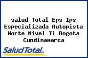 <i>salud Total Eps Ips Especializada Autopista Norte Nivel Ii Bogota Cundinamarca</i>