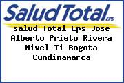 <i>salud Total Eps Jose Alberto Prieto Rivera Nivel Ii Bogota Cundinamarca</i>