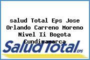 <i>salud Total Eps Jose Orlando Carreno Moreno Nivel Ii Bogota Cundinamarca</i>