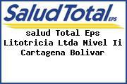 <i>salud Total Eps Litotricia Ltda Nivel Ii Cartagena Bolivar</i>