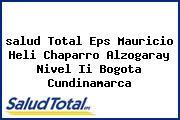 <i>salud Total Eps Mauricio Heli Chaparro Alzogaray Nivel Ii Bogota Cundinamarca</i>