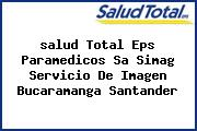 <i>salud Total Eps Paramedicos Sa Simag Servicio De Imagen Bucaramanga Santander</i>