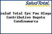 <i>salud Total Eps Pau Olaya Contributivo Bogota Cundinamarca</i>