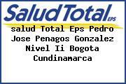 <i>salud Total Eps Pedro Jose Penagos Gonzalez Nivel Ii Bogota Cundinamarca</i>