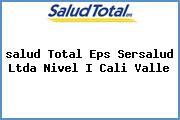 <i>salud Total Eps Sersalud Ltda Nivel I Cali Valle</i>