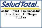<i>salud Total Eps Sersalud Ltda Nivel Ii Ibague Tolima</i>