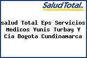 <i>salud Total Eps Servicios Medicos Yunis Turbay Y Cia Bogota Cundinamarca</i>