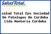 <i>salud Total Eps Sociedad De Patologos De Cordoba Ltda Monteria Cordoba</i>