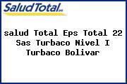 <i>salud Total Eps Total 22 Sas Turbaco Nivel I Turbaco Bolivar</i>