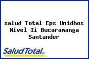 <i>salud Total Eps Unidhos Nivel Ii Bucaramanga Santander</i>
