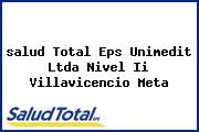 <i>salud Total Eps Unimedit Ltda Nivel Ii Villavicencio Meta</i>