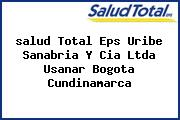 <i>salud Total Eps Uribe Sanabria Y Cia Ltda Usanar Bogota Cundinamarca</i>