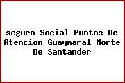 <i>seguro Social Puntos De Atencion Guaymaral Norte De Santander</i>