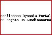 <i>serfinansa Agencia Portal 80 Bogota Dc Cundinamarca</i>