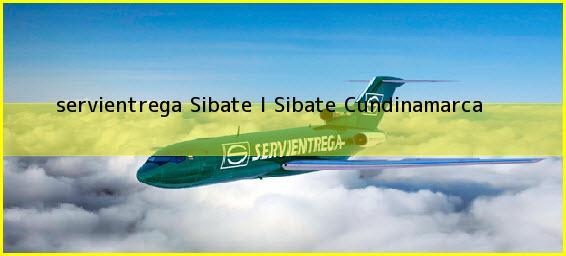 <b>servientrega Sibate I</b> Sibate Cundinamarca