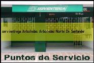 Teléfono y Dirección Servientrega, Arboledas, Arboledas, Norte De Santander