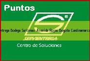 Teléfono y Dirección Servientrega, Bodega Surtimax Avenida Rojas, Bogota, Cundinamarca