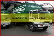Teléfono y Dirección Servientrega, Calle 32, Monteria, Cordoba