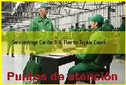 Teléfono y Dirección Servientrega, Caribe S.A., Puerto Tejada, Cauca