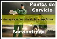 Teléfono y Dirección Servientrega, Carlos Jose Alvarado Parra, Ibague , Tolima