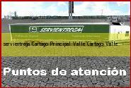 Teléfono y Dirección Servientrega, Cartago Principal Valle, Cartago, Valle