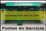 Teléfono y Dirección Servientrega, Centenario, Cali, Valle