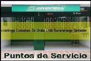 Teléfono y Dirección Servientrega, Consumax De Uraba Ltda., Bucaramanga, Santander