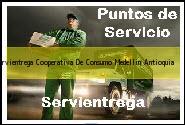 Teléfono y Dirección Servientrega, Cooperativa De Consumo, Medellin, Antioquia