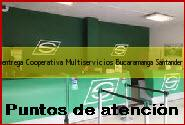 Teléfono y Dirección Servientrega, Cooperativa Multiservicios, Bucaramanga, Santander