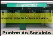 Teléfono y Dirección Servientrega, Fontibon Cra 100, Bogota, Cundinamarca