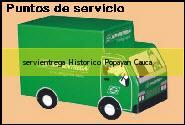 Teléfono y Dirección Servientrega, Historico, Popayan, Cauca