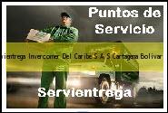 Teléfono y Dirección Servientrega, Invercomer Del Caribe S.A.S., Cartagena, Bolivar