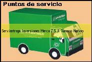 Teléfono y Dirección Servientrega, Inversiones Merca Z S.A., Tumaco , Nariño