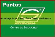 Teléfono y Dirección Servientrega, Javier Verdugo Baron, Bogota, Cundinamarca