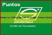 Teléfono y Dirección Servientrega, Luis Alberto Martinez Aristizabal, Armenia, Quindio