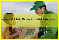 Teléfono y Dirección Servientrega, Luis Alberto Martinez Aristizabal, Ibague , Tolima