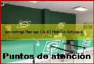 <i>servientrega Manrique Cra 45</i> Medellin Antioquia