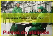 Teléfono y Dirección Servientrega, Mercamio S.A, Cali , Valle
