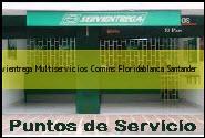 <i>servientrega Multiservicios Comins</i> Floridablanca Santander