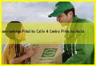 Teléfono y Dirección Servientrega, Pitalito Calle 4 Centro, Pitalito, Huila